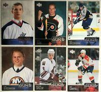 6 Card Rookie Lot 2003-04 Upper Deck Young Guns Dan Fritsche Flyers Brookbank