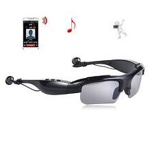 HOT Wireless Music Sunglasses with Stereo Handsfree Bluetooth Headset Headphone