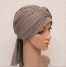 Full turban, chemo head wear, full head covering, volume head wrap, hair wrap