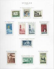 s25609) ITALIA MNH**1958 Year set 25v Annata  2 scans (NO SERVIZI)