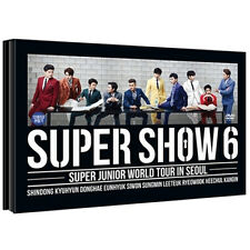 Korea Music Super Junior - World Tour in Seoul [SUPER SHOW 6] (2 DISC)(DVDMU283)