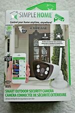 SMART OUTDOOR Security Camera SIMPLE HOME XCS7-1003-WHT  BRAND NEW