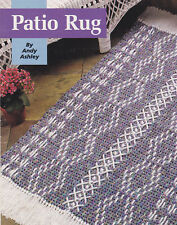 Crochet Pattern ~ PATIO RUG Crochet 'n' Weave ~ Instructions