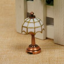 Miniature LED Light Lamp with Button Battery 1:12 Dolls House Home Decor .UK