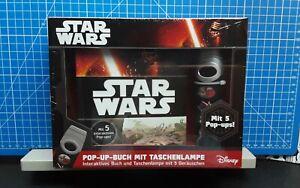 Disney Star Wars Pop -up- Buch mit 5 Geräuschen und Taschenlampe 1.Auflage 2016