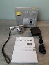 Very nice  - Nikon Coolpix S3700 20.1 MP Camera - SILVER - 018208264780