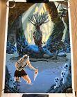 MONONOKE Pool of the Forest God Poster Print GID Variant Tim Doyle Studio Ghibli