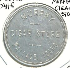 Token Murphy Cigar Store Wallace Idaho Good for $1. Trade Aluminum 37mm