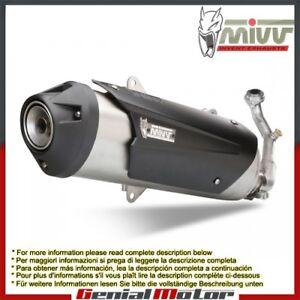 Mivv Exhaust Muffler Urban Steel Gilera Fuoco 500 2009 09