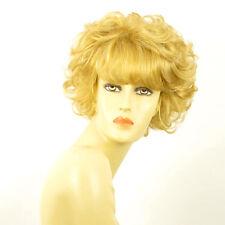 Perruque femme courte blond clair doré ELEONORE LG26