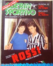 GUERIN SPORTIVO=N°15 1982=ROSSI E SIMONETTA COVER