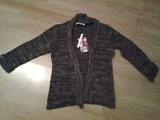 PATRICE BREAL GILET CHINE MANCHES ¾  T.3 NEUF