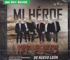 Los Invasores de Nuevo Leon Mi Heroe CD New Nuevo sealed