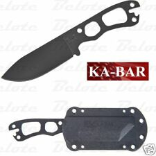 Ka-Bar KaBar Knives Becker Necker Neck Knife Black With Sheath BK11  0011 NEW