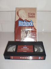 K7 VHS VIDÉO CASSETTE : COLLECTION HITCHCOCK À L'EST DE SHANGHAI TRÈS BON ÉTAT !