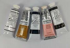 Lot of 5 M Graham & Co. Winsor Newton Oil Color Paint 37ml (4 new)