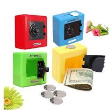 Combination Lock Money Box Code Safe Coins Cash Saving Piggy Bank Xmas Gift Home