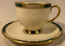 """LENOX Presidential Collection """"Union"""" Cup & Saucer Set (1989-1999?)"""