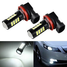 2pcs H11 H8  LED Fog Light Bulb For Ford Ranger Focus Mustang Fiesta Explorer