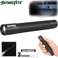 Q5 Zoomable LED Flashlight 3 Modes Super Bright MINI Police Torch Lamp  AA/14500