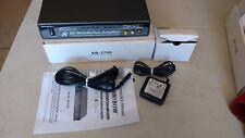 1x8 (1:8) Composite 3-RCA AV  Analog Audio Video Splitter Amplifier SB-3708
