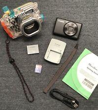 Canon Powershot S95 10MP Camera & ORIGINAL Canon WP-DC38 UNDERWATER HOUSING