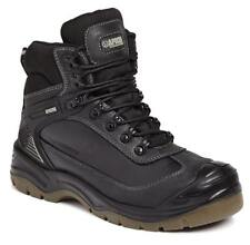 Apache Ranger Black Waterproof Safety Boots Steel Toe UK sizes 6-12