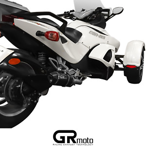 Exhaust for BRP CAN  AM  SPYDER 2007 on GRmoto Carbon