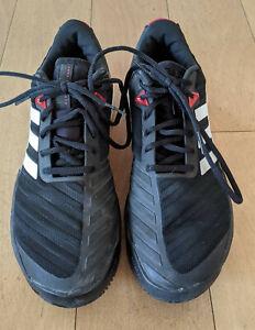 Adidas Barricade, 40 2/3, Schwarz, Herren, Allcourt