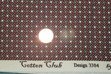 """COTTON CLUB"" REPRODUCTION COTTON QUILT FABRIC FOR MARCUS BY THE YARD 3304-0113"
