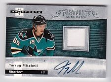 2007-08 Fleer Hot Prospects # 232 Torrey Mitchell RC Jersey Patch Autograph SP