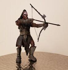 "2001 Lord Of The Rings 7.5"" Kurtz Uruk Action Figure Marvel"