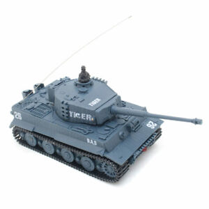 Ferngesteuerter Mini RC Panzer Kampfpanzer Tiger Tank Modellbau R/C 1:72 Maßstab
