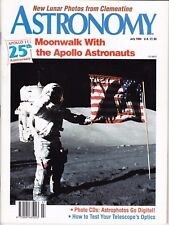 Astronomy Magazine July 1994,Moon Voyagers, Clementine Maps the Moon