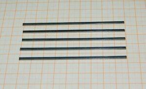 Federstahl 90mmx0,80mmx2,50mm Flachstahl  RC Modellbau Bahn Blattfedern Federn