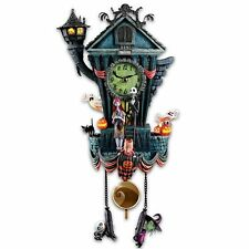 Bradford Exchange The Cuckoo Clock: Tim Burton's The Nightmare Before Christmas
