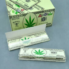 50 Pack (X32) Natural gum Rolling Papers KINGSIZE 110mm Handroll dollar
