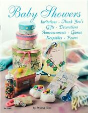 Baby Showers by Donna Goss Design Originals Craft Books #5303 Diy