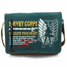 New Anime Attack On Titan Shoulder, Messenger Bag-Canvas