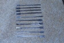"""Lot Of (10) Aluminum 1605 6"""" Blank Marker Band Tags Cable Tie Wrap NEW"""