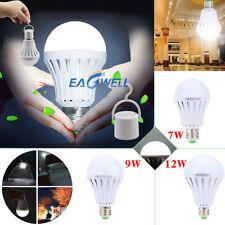 US Smart LED E27 7W 9W 12W Emergency Light Bulb Rechargeable Intelligent Lamp
