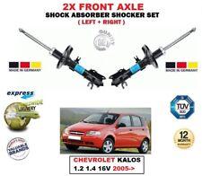 Para Chevrolet Kalos 1.2 1.4 16V 2005- > en Adelante 2x Izquierdo Derecho Choque