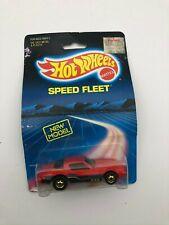 Hot Wheels Speed Fleet Camaro Z-28 Red New Model 1988 Brand New On Card
