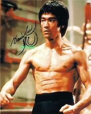 BRUCE LEE REPRINT 8X10 AUTOGRAPHED SIGNED PHOTO PICTURE COLLECTIBLE MARTIAL ARTS