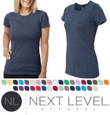 Next Level 6610 Womens Junior Fit CVC Crewneck T-Shirt New SALE!