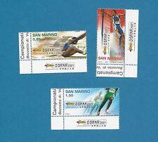 San Marino 2304-2306 Complete Lower eckränder Luxury **!!!
