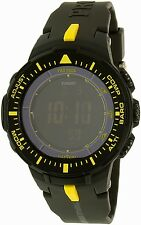 Casio Men's Pro Trek PRG300-1A9 Black Resin Quartz Watch