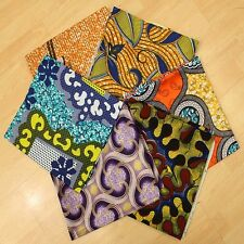 African Print Cloth *Fat Quarter Bundles  Patching,Quilting,Crafting And sewing*