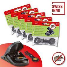 5 x 6 Stück Swissinno SuperCat Ersatzköder für Mausefalle Schlagfalle