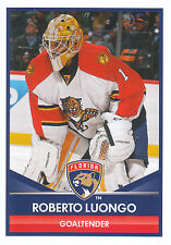 16/17 PANINI NHL STICKER #85 ROBERTO LUONGO PANTHERS *24755